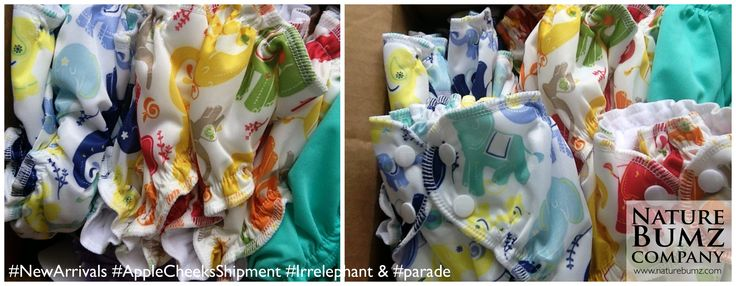 @applecheeksdipe NEW SHIPMENT of Irrelephant & Parade, #Adoreable #NewPrints #buyallthediapers