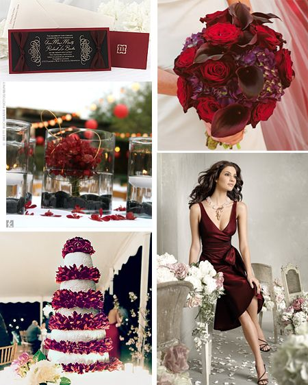April Wedding Colors: 116 Best A Berry Beautiful Wedding Images On Pinterest