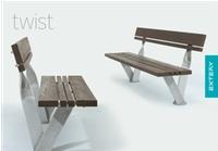 TWIST design benches  TWIST panchine di design