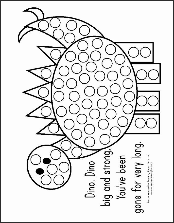 Do A Dot Art Free Printables Gduek Awesome Do A Dot Printables