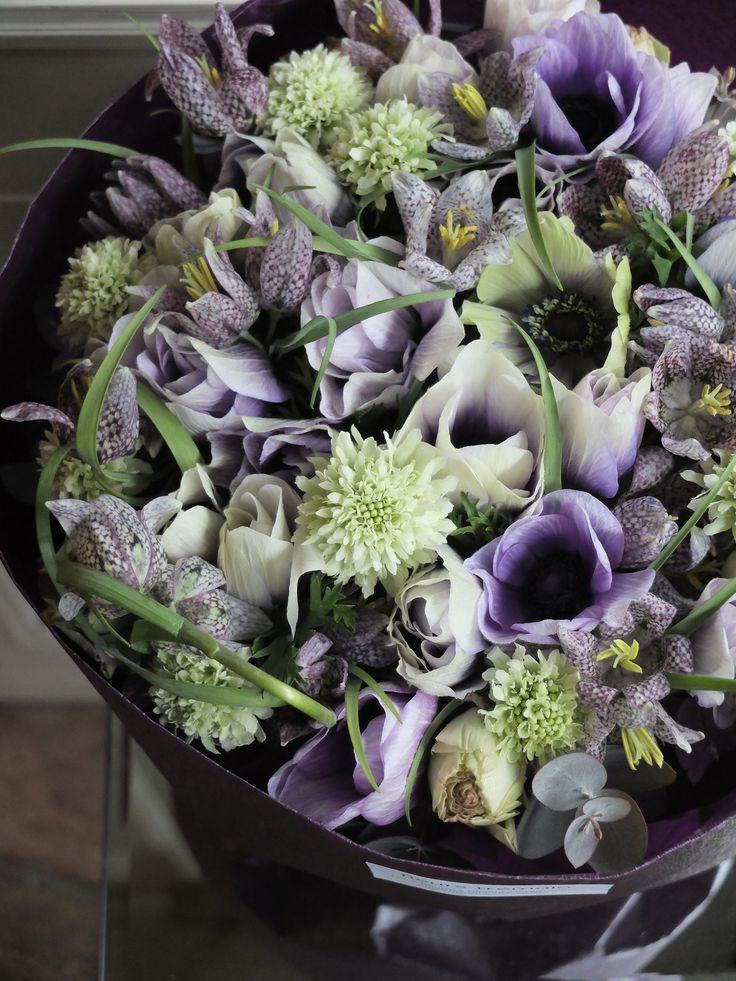 anemone and fritillaria