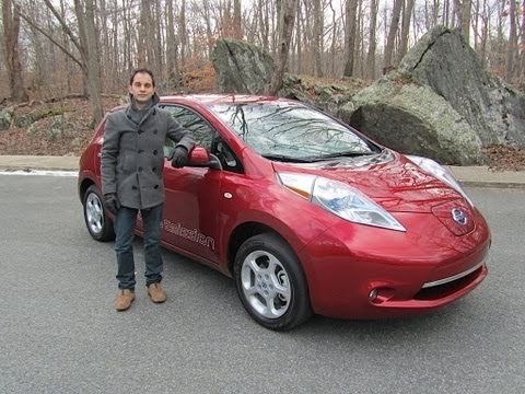 2011 Nissan LEAF Electric Car Test Drive & Car Review by RoadflyTV - YouTube