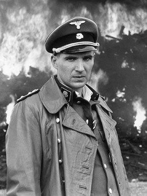Ralph Fiennes in 'Schindler's List', 1993