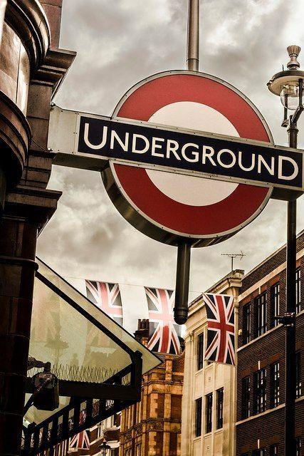 Underground station, London. #city