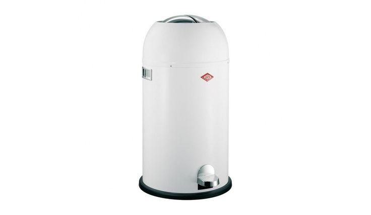 Wesco - Kickmaster Soft Close Bin - white/stainless steel/with integrated damper £115 bargain!