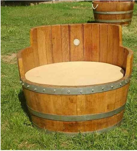 Wine Barrel Chairs Dyi Pinterest Whiskey Barrels