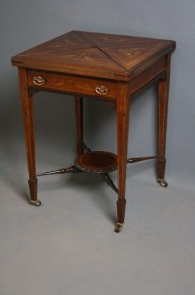 46 best Antique Card Table images on Pinterest Card tables