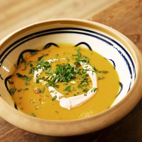Broccoli-Curry-Suppe - [ESSEN UND TRINKEN]