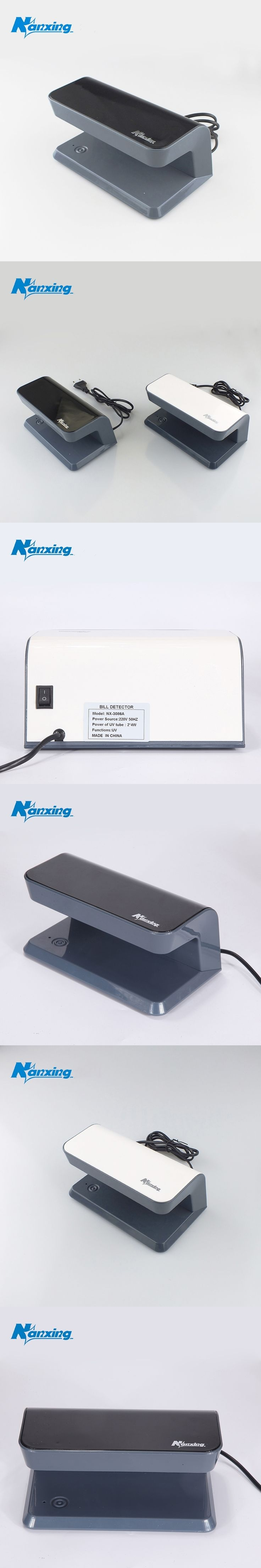 [Nanxing] counterfeit money machine for detetor fake money currency detector money detector white blank bule color NX-3086A