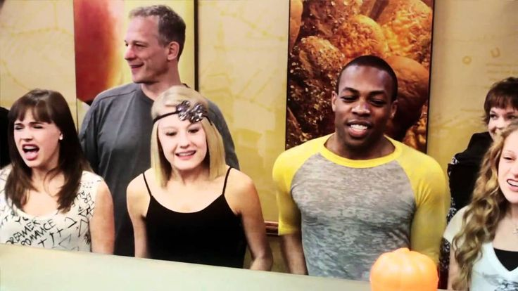 Todrick's Subway Order! I really like the guy in back who doesn't know what to do but dance. haha!