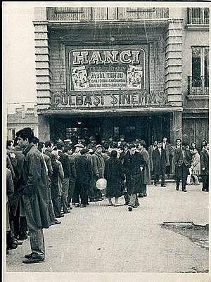 1960'lı Yıllar, Ankara Maltepe Semtinde Ki Meşhur Gölbaşı Sineması..