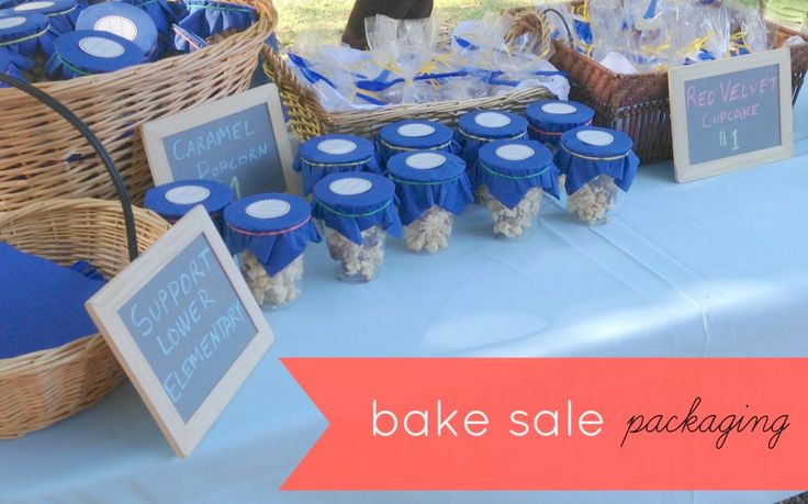 bake sale packaging ideas | Simple & Cute Ways to Package Goods for a Bake Sale - Jolly Mom