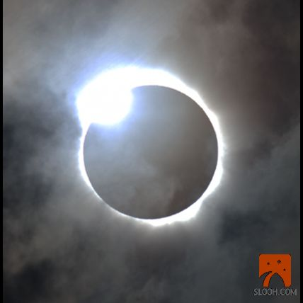 Diamond ring - total solar eclipse.