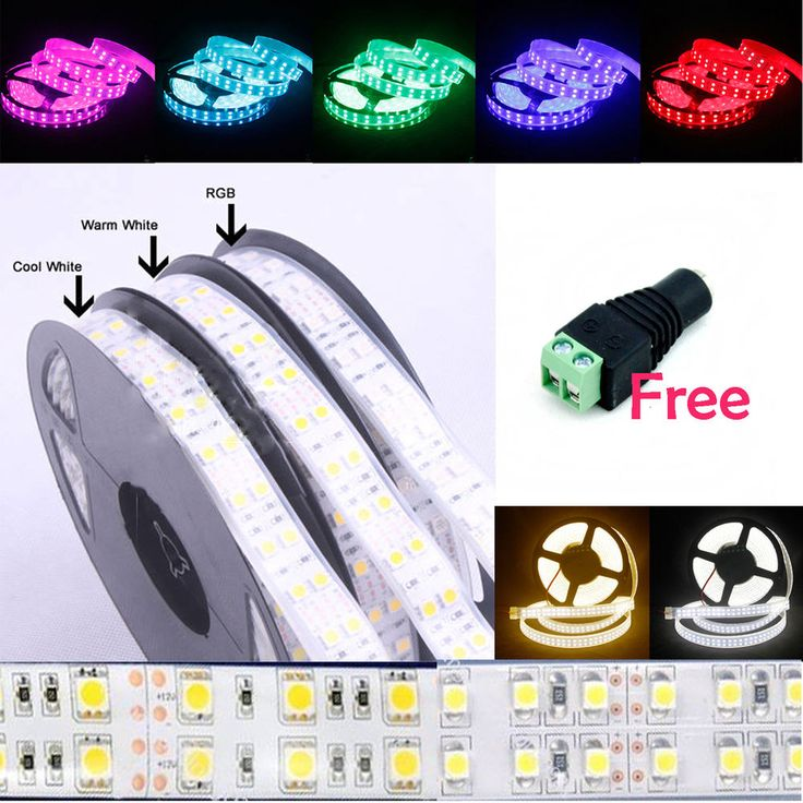 Wholesale 5M 5050 / 3528 SMD Double Row 600 / 1200 LED Flexible Strip Lights in Home, Furniture & DIY, Lighting, Fairy Lights | eBay