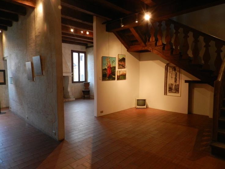 The hallway, Cima's House, Conegliano