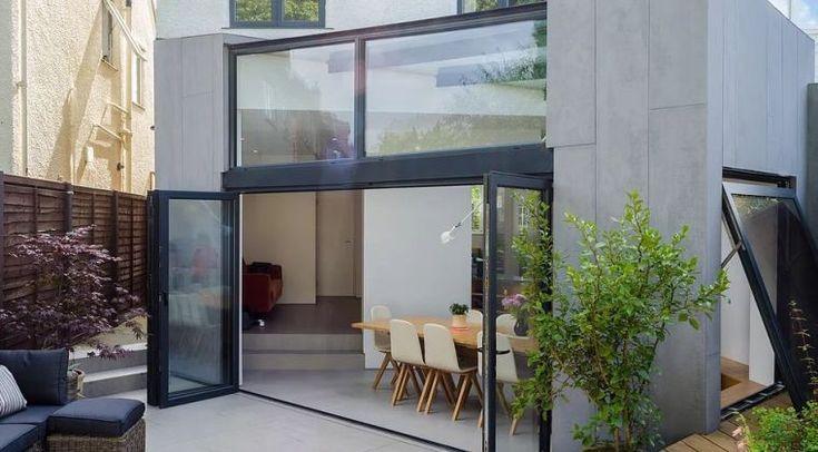 id e pour agrandir sa maison et profiter de plus d 39 espace avec une extension moderne agrandir. Black Bedroom Furniture Sets. Home Design Ideas
