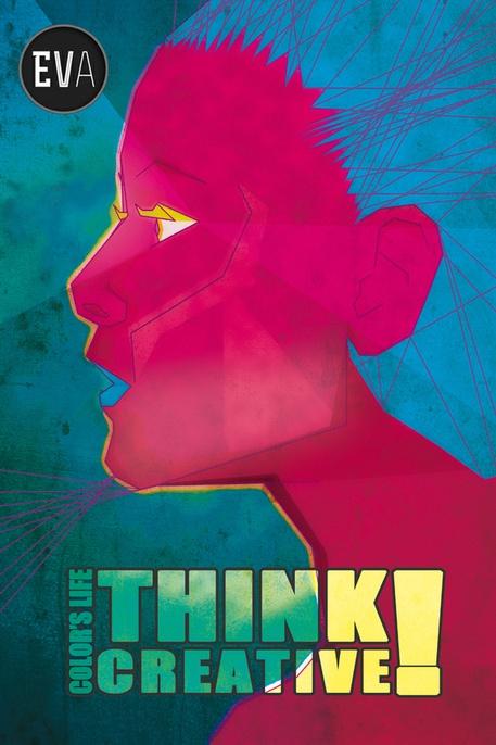 Think Creative ! by Eva Ortiz Alvarez, via Behance