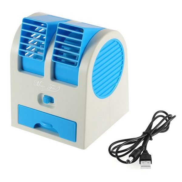 2016 New Arrival 1pc Mini Small Fan Cooling Portable Desktop Dual Bladeless Air Conditioner USB     Tag a friend who would love this!     FREE Shipping Worldwide     Get it here ---> https://shoppingafter.com/products/2016-new-arrival-1pc-mini-small-fan-cooling-portable-desktop-dual-bladeless-air-conditioner-usb/