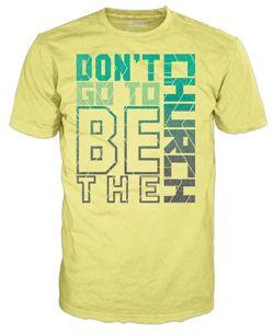 Shirt Design For A Church Tshirt