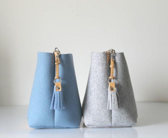 De nieuwe zak van de emmer met kwast Hobo zak Tote tas