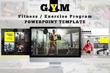 Great design doesn't have to be hard.Check out Fitness Exercise - Presentation Powerpoint Templates