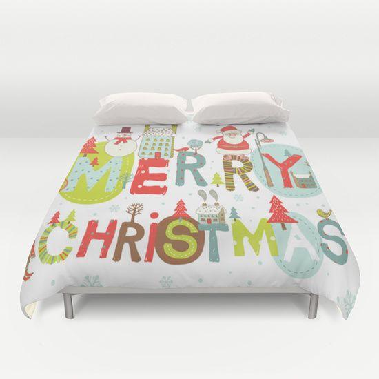 Duvet Cover MERRY CHRISTMASduvet cover ideas best design #MERRY CHRISTMAS#duvetcover #kingsize #queensize #twinsize #fullsize #birthdaygift #Christmasgift #cheapestgift #biggift #unisex #offer #cheapsale #sales #bedroomdecoration #society6
