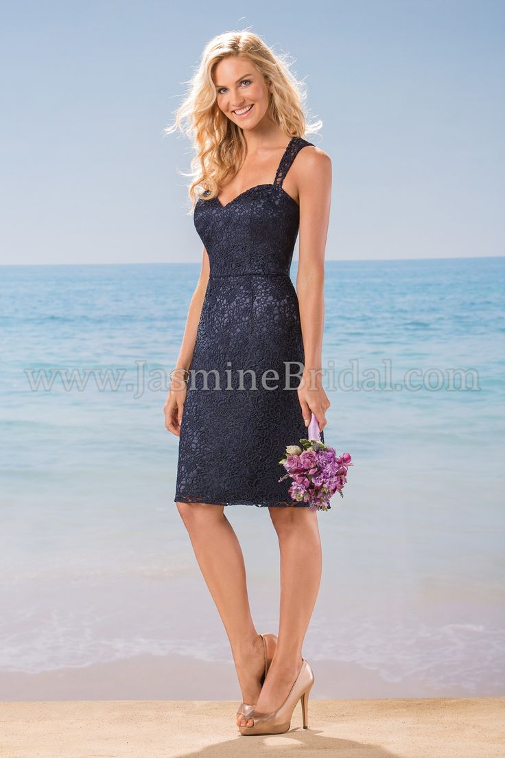 245 best bridesmaid dresses images on pinterest jasmine bridal jasmine bridal bridesmaid dress belsoie style l184018 in navy ombrellifo Images