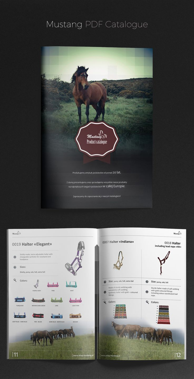 Mustang PDF Catalogue design