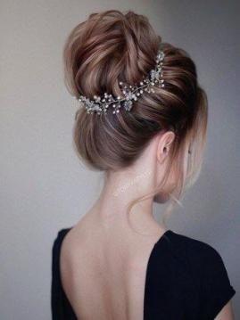 54 Ideas bridal hairstyles indian weddings long hair