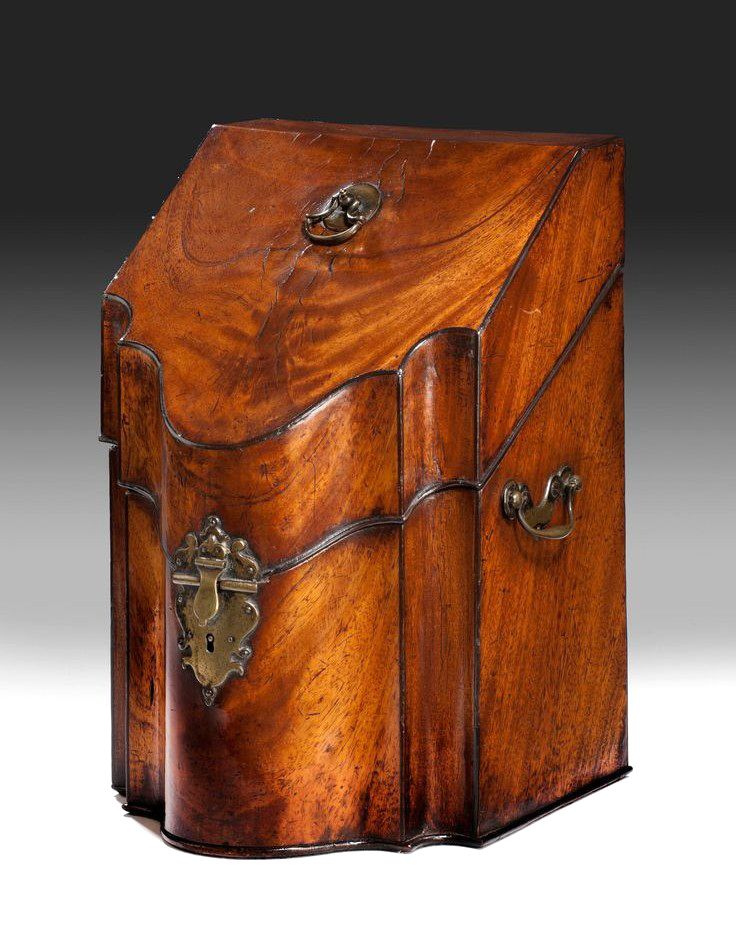 Antique George III Knife Box