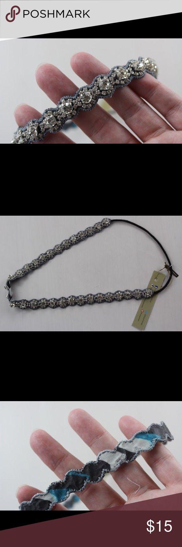 Deepa Gurnani Katie Crystal Headband New with tags removed. Never worn.  Price firm unless bundled, thank you. deepa gurnani Accessories Hair Accessories