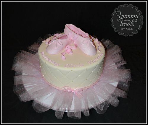ballerina baby shower cake cakes pinterest