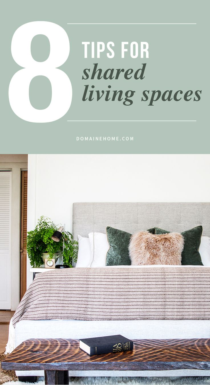 Tips for couples living together in a small space.