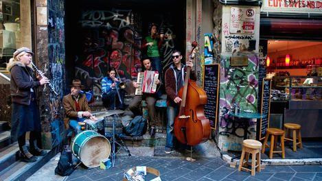 Jazz band in Melbourne, Australia