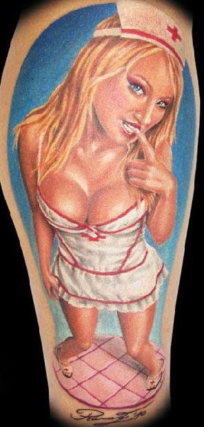 Realism Tattoo by Randy Engelhard - http://worldtattoosgallery.com/realism-tattoo-by-randy-engelhard-5/