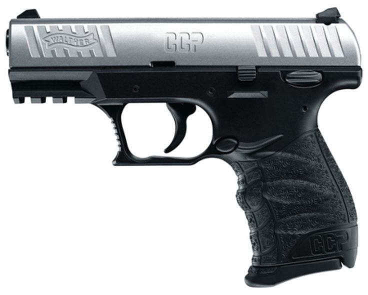 Walther CCP 9mm Pistol 3.54in 8 Round Stainless Polymer - $379.99 (Free S/H on Firearms) | Slickguns
