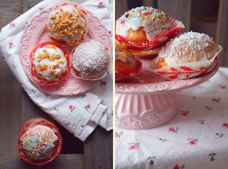 Pączki pieczone - z nutellą, solonym karmelem czy z marmoladą? :)