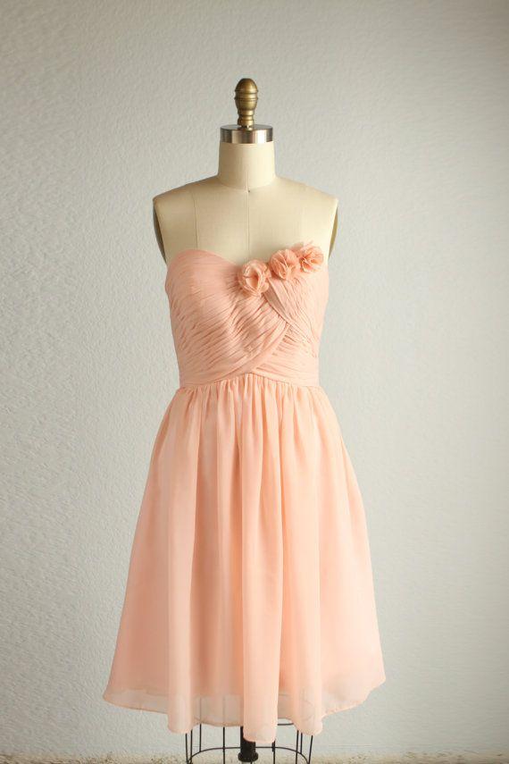 2016 mix and match short peach bridesmaid dress short blush pink fairy wedding dress one. Black Bedroom Furniture Sets. Home Design Ideas