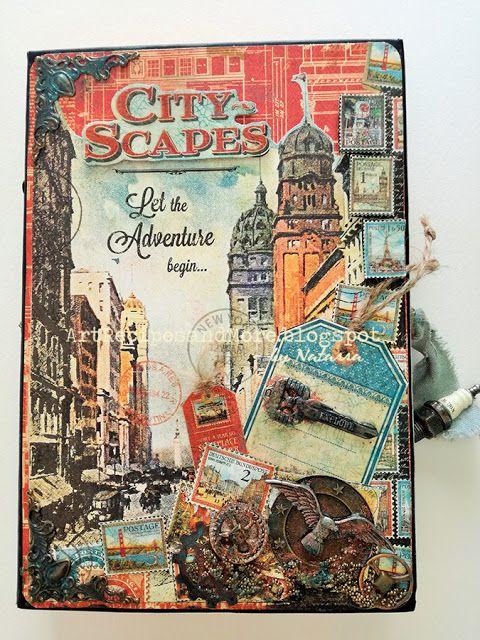 Graphic 45 Cityscapes Mini Album