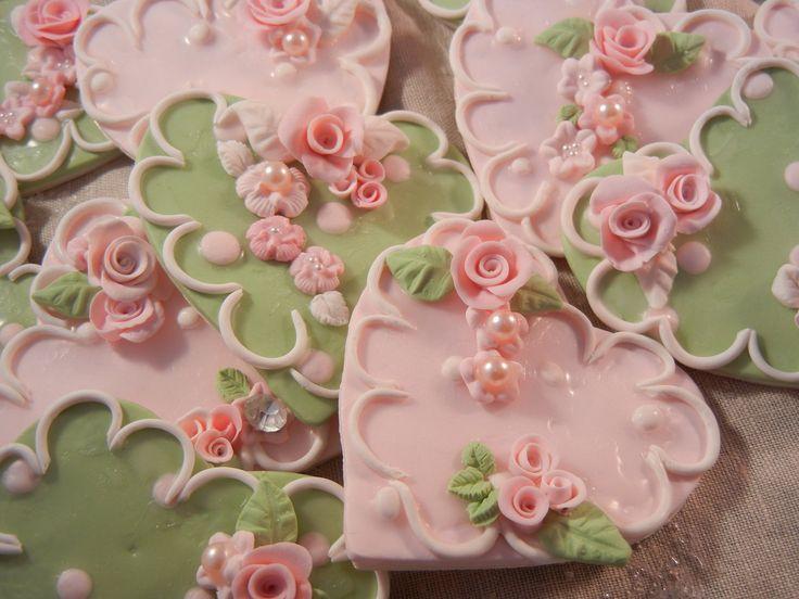 rose bud cookies....