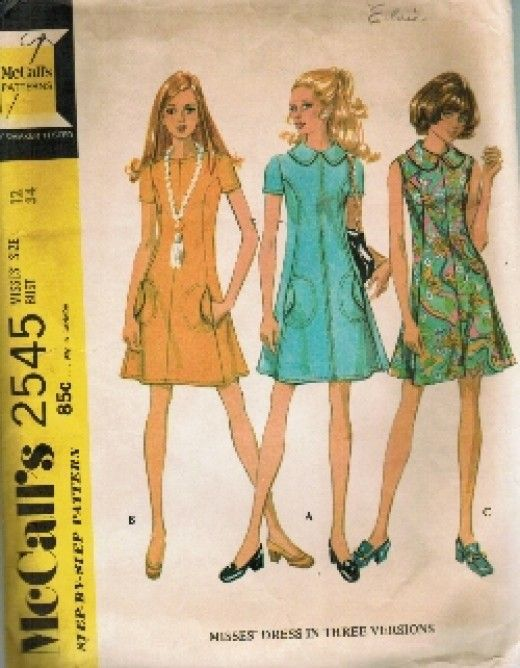 1970 39 S Fashion Sewing Patterns My Mom And Jasmine