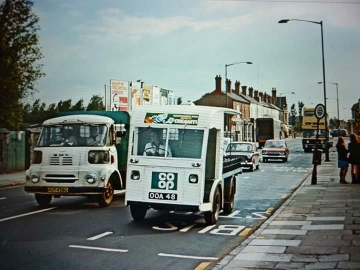 Co Op Electric Milk Float