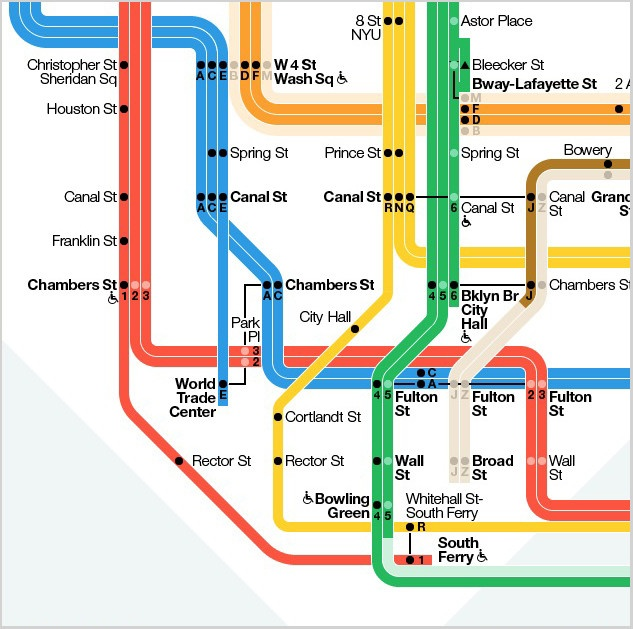 The New York Subway Map gets a new look.