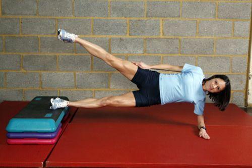 Side-lying leg lifts