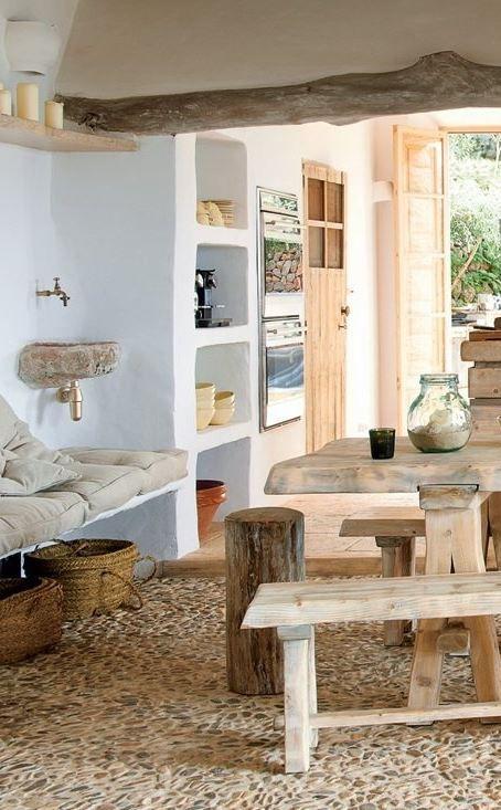 Ejemplos de decoración rústica de la marca de diseño holandesa COCOON