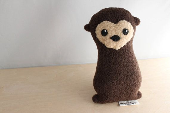 Otter Plushie - Arnold by FairweatherFriends on Etsy, $15.00