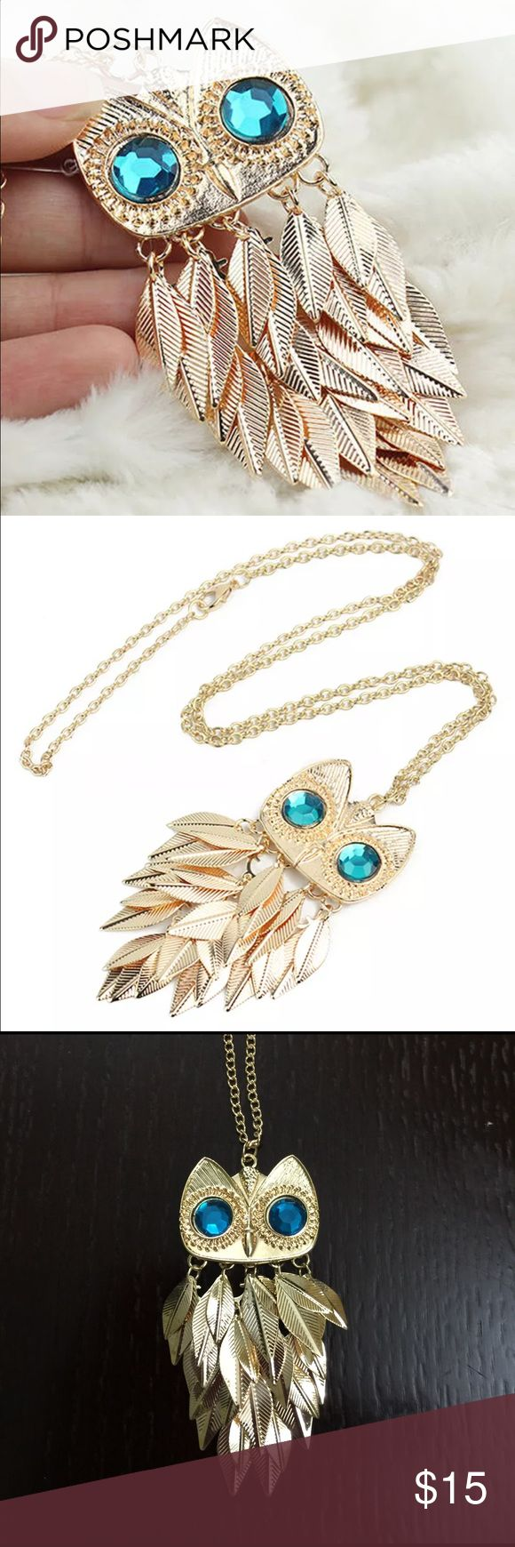 Owl necklace NEW .Women owl  pendant necklace Jewelry Necklaces