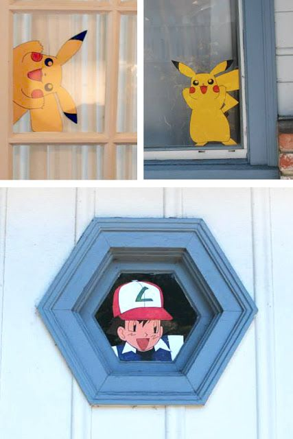 Cute Idea for Robin's Pokemon Birthday Party