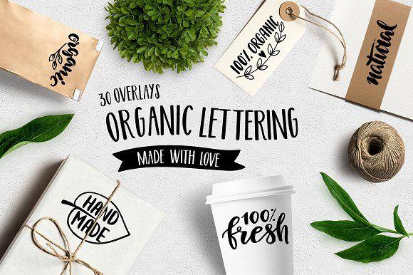 Set of Organic Overlays & Icons by Maria Galybina on @creativemarket