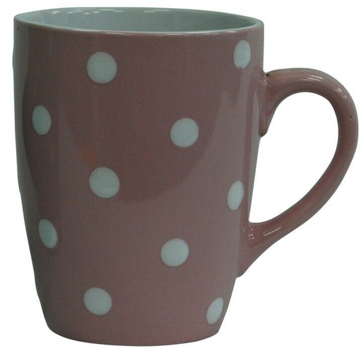 Mug Porcelain Coffee Cup Tea Cup Mug with Saucer Brown NEW 450 ML Duo